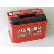 Автомобильный аккумулятор MASTER ROAD 75 А/ч