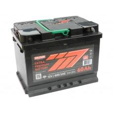 Автомобильный аккумулятор 777 RED (АКОМ) 60 А/ч полярность любая