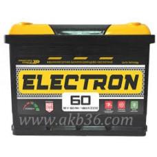 Автомобильный аккумулятор ELECTRON 60 А/ч