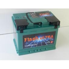 Автомобильный  аккумулятор Flash Ultra Plus 60 A/h(г.Елабуга)