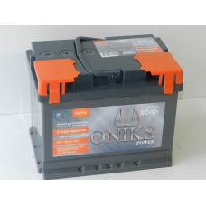 Автомобильный аккумулятор ONIKS 60 А/ч