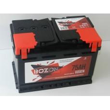 Автомобильный аккумулятор BOZON 75 A/h