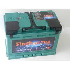 Автомобильный аккумулятор Flash Ultra Plus 77