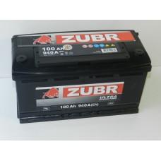 Автомобильный аккумулятор ZUBR ULTRA 100 А/ч