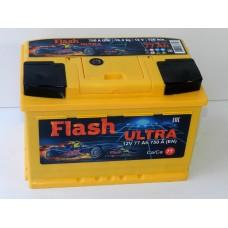 Автомобильный  аккумулятор Flash Ultra 77