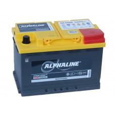 Автомобильный  аккумулятор AlphaLINE AGM 70 А/ч обр/п.