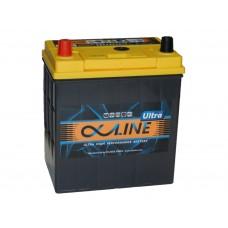 Автомобильный  аккумулятор AlphaLINE ULTRA 50 А/ч п/п. (55B19R)