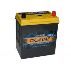 Автомобильный  аккумулятор AlphaLINE ULTRA 50 А/ч обр/п. (55B19L)