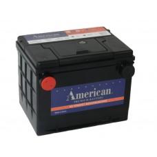 Автомобильный аккумулятор American 75650 75 А/ч