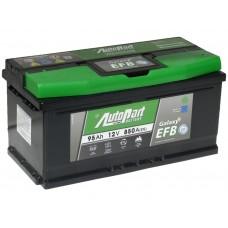 Автомобильный аккумулятор AUTOPART EFB 95 А/ч обр/п низкий