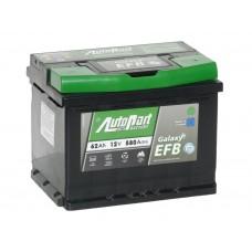 Автомобильный аккумулятор AUTOPART EFB 62 А/ч обр/п
