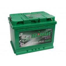 Автомобильный аккумулятор AZIMUT (АКОМ) 60 А/ч полярность любая