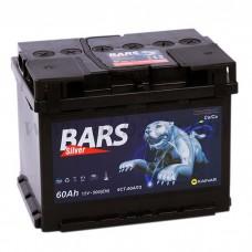 Автомобильный аккумулятор Bars 60 А/ч