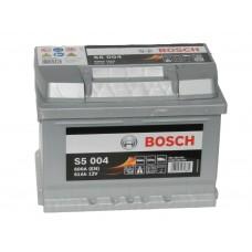 Автомобильный аккумулятор BOSCH 61 А/ч Silver Plus (низкий)