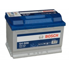 Автомобильный аккумулятор BOSCH 74 А/ч Silver