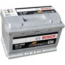 Автомобильный аккумулятор BOSCH 77 А/ч Silver Plus