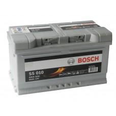 Автомобильный аккумулятор BOSCH 85 А/ч (низкий)