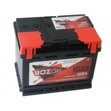 Автомобильный аккумулятор BOZON 60 А/ч(г.Елабуга)