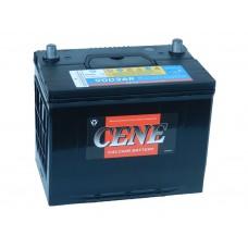 Автомобильный  аккумулятор CENE (Delkor) 80 А/ч 90D26R