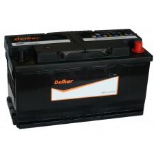 Автомобильный аккумулятор DELKOR 100 А/ч обр/п. (60044)