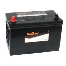 Автомобильный аккумулятор DELKOR 105 А/ч п/п (125D31R)