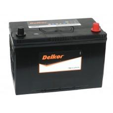 Автомобильный аккумулятор DELKOR 105 А/ч обр/п (125D31L)