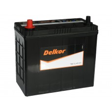 Автомобильный аккумулятор DELKOR 55 А/ч п/п