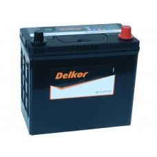 Автомобильный аккумулятор DELKOR 58 А/ч обр/п (70B24LS)