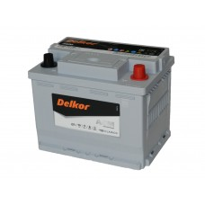 Автомобильный аккумулятор DELKOR AGM LN2 60 А/ч обр/п