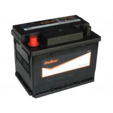 Автомобильный аккумулятор DELKOR 65 А/ч п/п