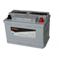 Автомобильный аккумулятор DELKOR AGM LN3 70 А/ч обр/п