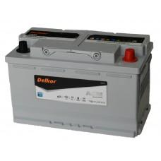 Автомобильный аккумулятор DELKOR AGM LN4 80 А/ч обр/п
