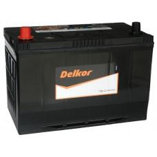 Автомобильный аккумулятор DELKOR 100 А/ч п/п (115D31R)
