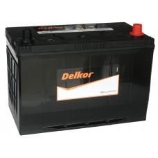 Автомобильный аккумулятор DELKOR 100 А/ч обр/п (115D31L)