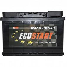 Автомобильный аккумулятор ECOSTART 77 А/ч