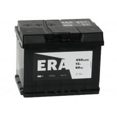 Автомобильный аккумулятор ERA 60 А/ч п/п