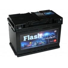 Автомобильный аккумулятор  FLASH 75 А/ч (г. Елабуга)