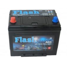 Автомобильный аккумулятор FLASH 75 А/ч Азия(Казахстан)