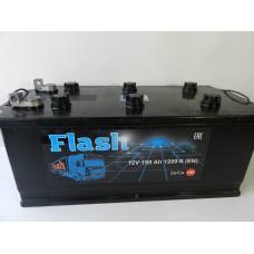 Автомобильный аккумулятор FLASH 190 А/ч под болт