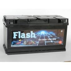 Автомобильный аккумулятор  FLASH  90 А/ч (г. Елабуга)