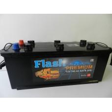Автомобильный аккумулятор FLASH PREMIUM 140 А/ч
