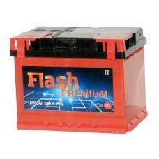 Автомобильный аккумулятор FLASH PREMIUM 60 А/ч (г. Елабуга)