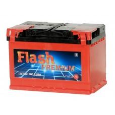 Автомобильный аккумулятор  FLASH PREMIUM 75 А/ч (г. Елабуга)