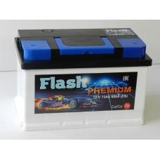 Автомобильный аккумулятор FLASH PREMIUM 75 А/ч