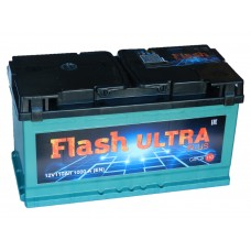 Автомобильный  аккумулятор Flash Ultra Plus 110 А/ч обр/п (г.Елабуга)
