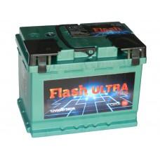 Автомобильный  аккумулятор Flash Ultra Plus 56 А/ч п/п (г.Елабуга)