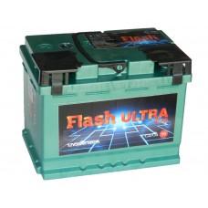 Автомобильный  аккумулятор Flash Ultra Plus 56 А/ч обр/п (г.Елабуга)