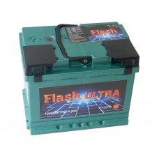 Автомобильный  аккумулятор Flash Ultra Plus 66 A/h(г.Елабуга)