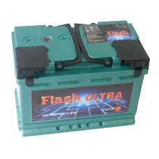 Автомобильный аккумулятор Flash Ultra Plus 77(г.Елабуга)