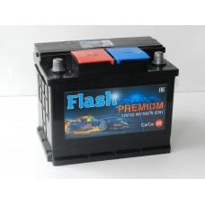 Автомобильный аккумулятор FLASH PREMIUM 62 А/ч(Казахстан)